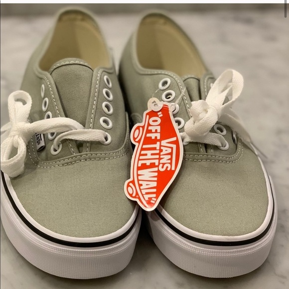 Vans Shoes | Olive Green Authentic Vans